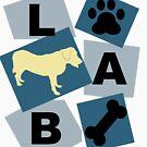 Yellow Labrador by purplesmoke17