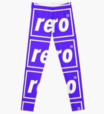 Retro - Blue Leggings
