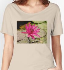 Pinkish  Women's Relaxed Fit T-Shirt
