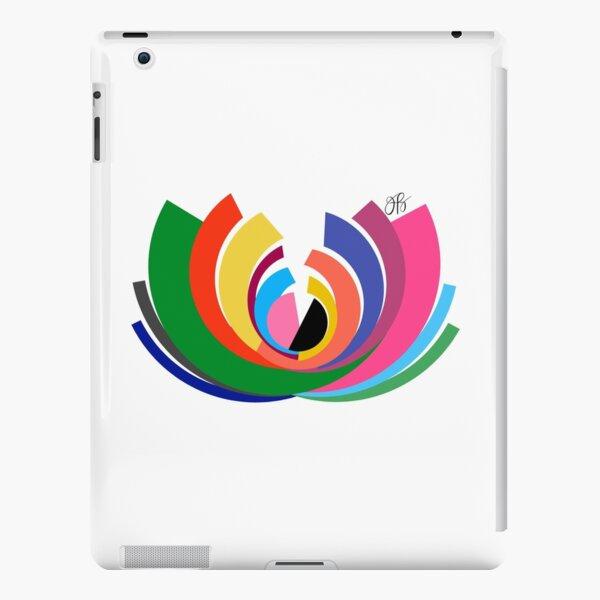 Abstract Lotus iPad Snap Case