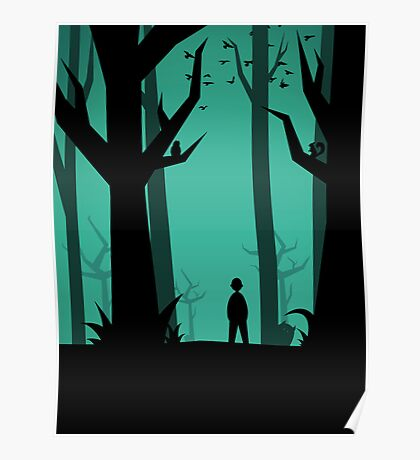 Lost In The Woods Poster