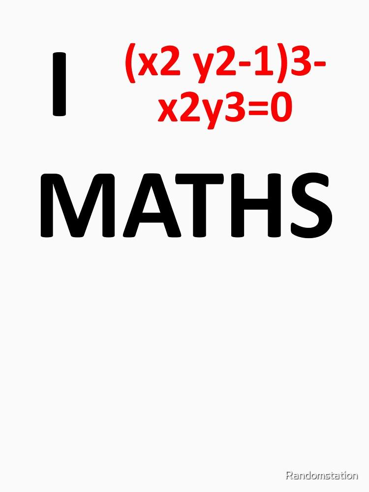 I Heart Maths  by Randomstation