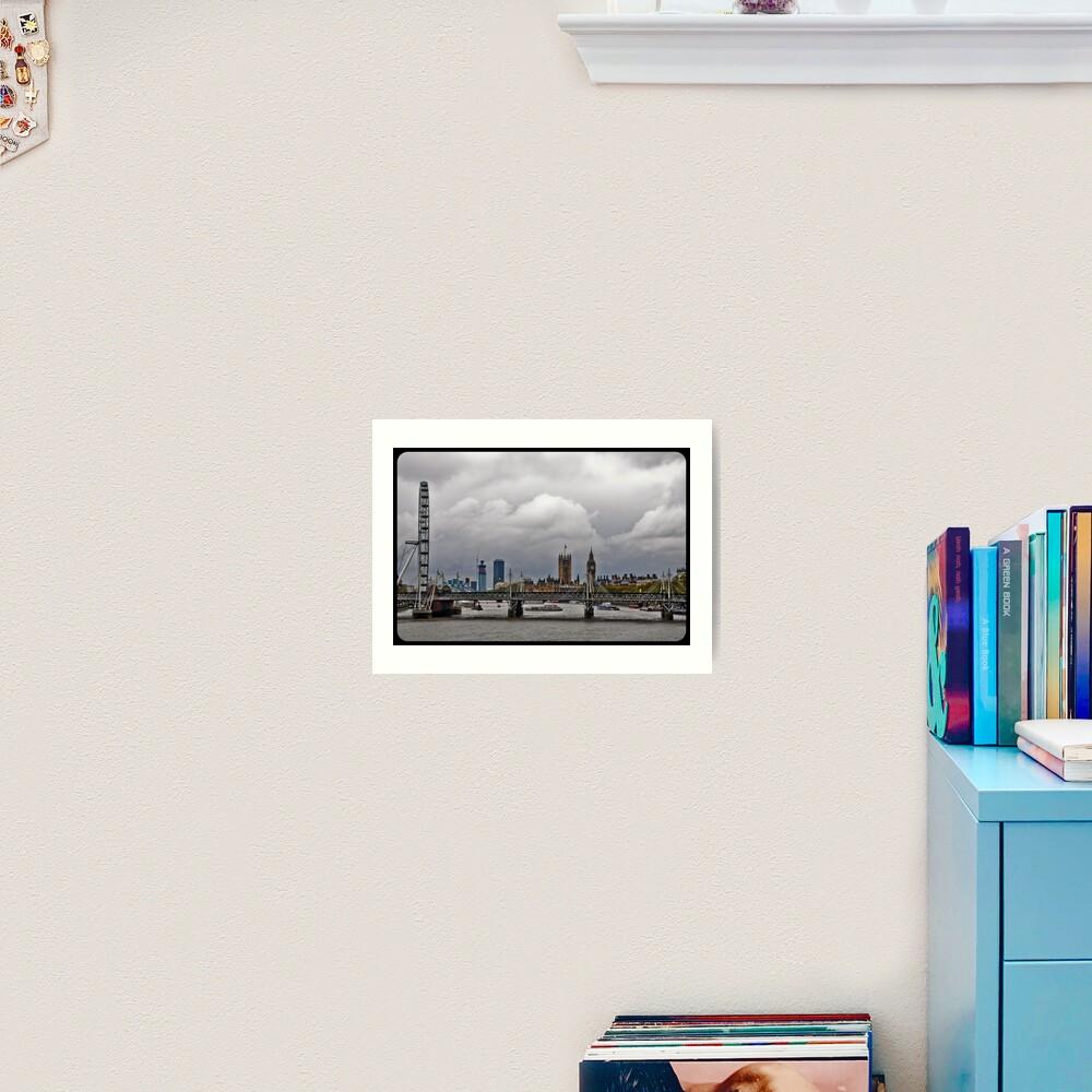 Experience London Art Print