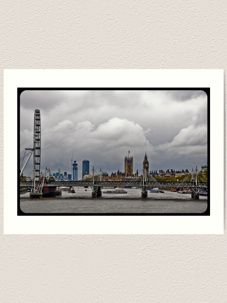 Alternate view of Experience London Art Print