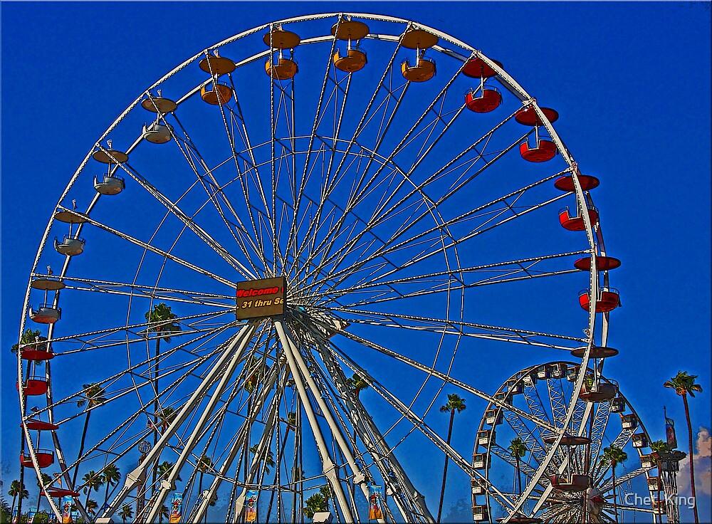 Wheel In A Wheel by Chet  King