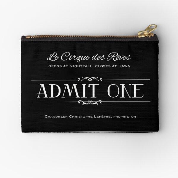 Le Cirque des Rêves Admission Ticket Zipper Pouch