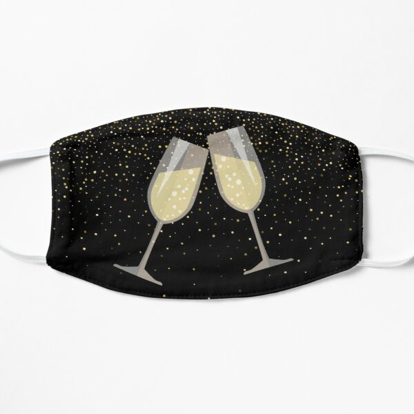 Champagne Toast Mask