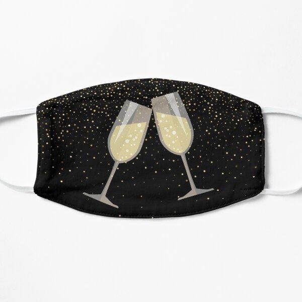 Champagne Toast Flat Mask