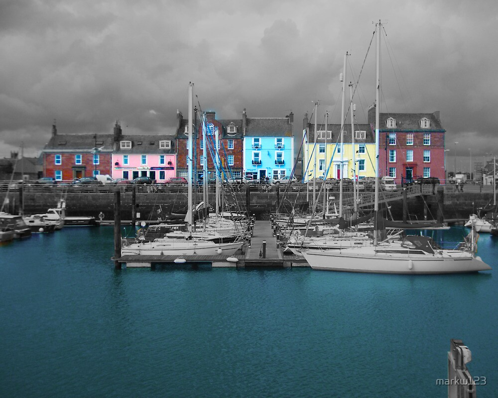 Arbroath Harbour  by markw123