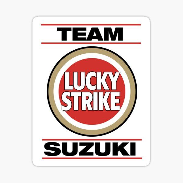 Lucky Strike 500cc Camiseta, pegatina, sudadera con capucha, máscara Pegatina