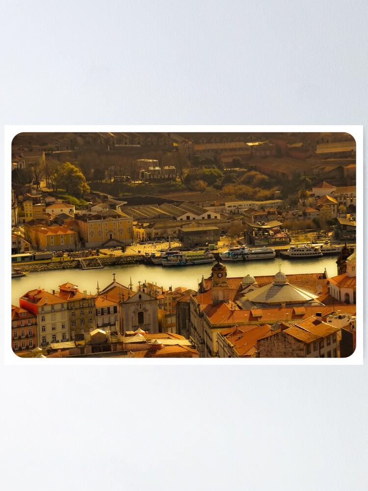 Alternate view of Porto Poster