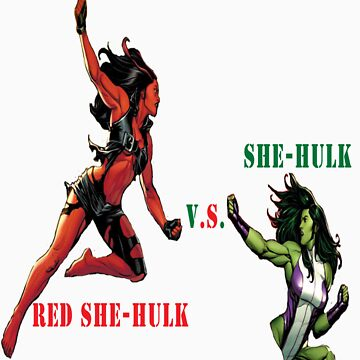 She-Hulk Versus by robzbertz