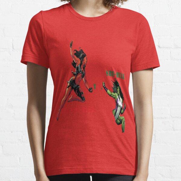 FREEZE She Hulk The Sensational Womens T-Shirt