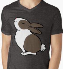 Proud Bunny Rabbit Men's V-Neck T-Shirt
