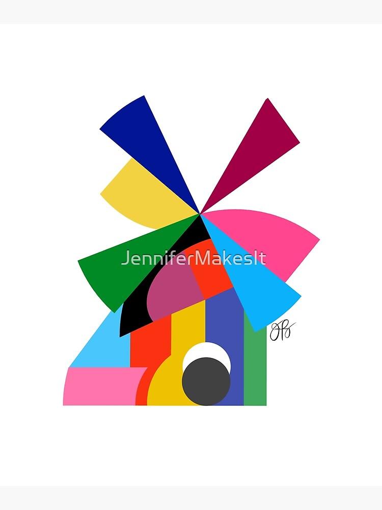 Abstract Windmill by JenniferMakesIt