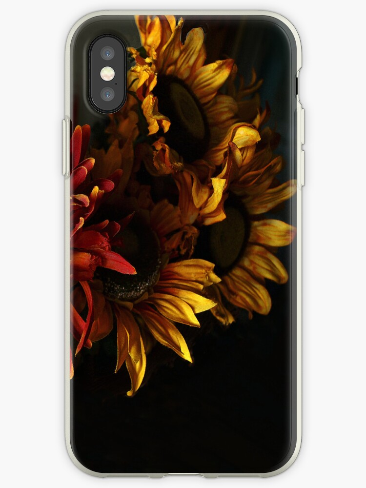 sunflowers i-phone cover by Barry W  King