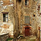 Bricks and Stones-Cesi, Italy by Deborah Downes