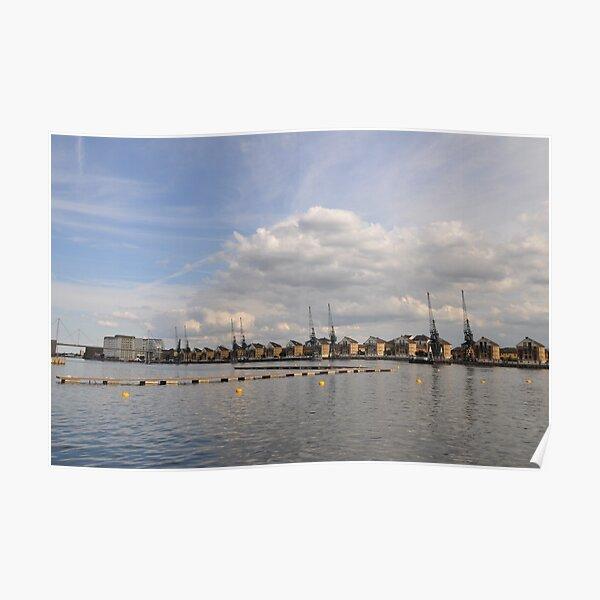 Urban river Poster
