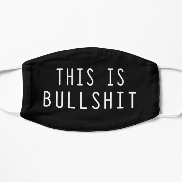 This is bullshit Essential Slim Fit  Flat Mask