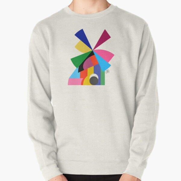 Abstract Windmill Pullover Sweatshirt
