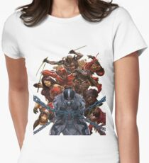 Uncanny X-Force Womens Fitted T-Shirt