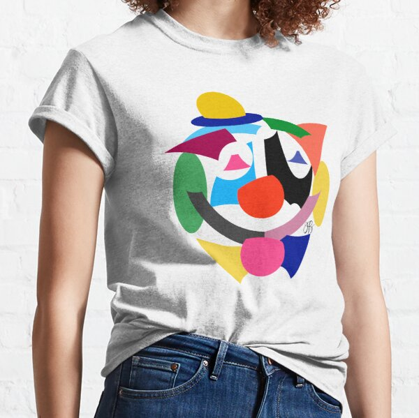 Abstract Clown Classic T-Shirt