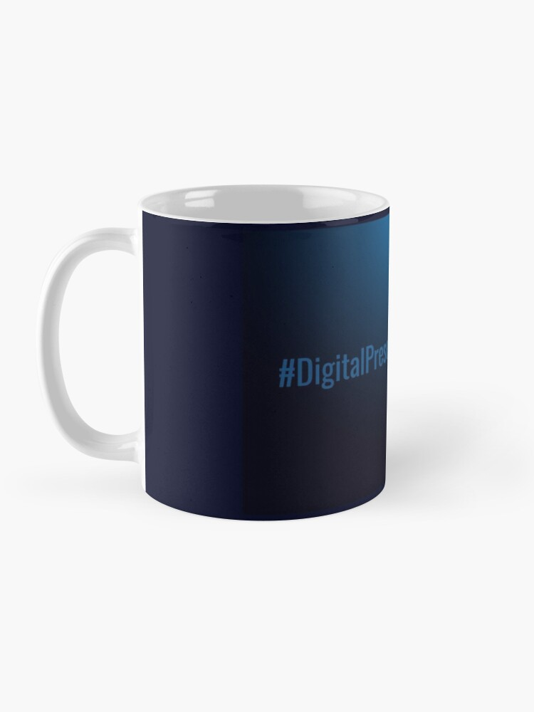 Alternate view of #DigitalPresentism Mug