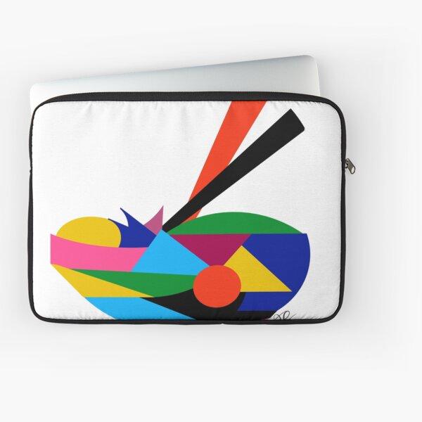 Abstract Ramen Laptop Sleeve