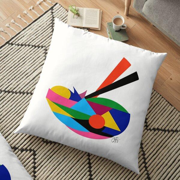 Abstract Ramen Floor Pillow