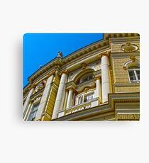 Architecture HDR Canvas Print