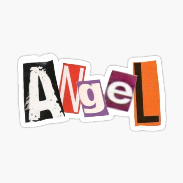 ANGEL // Y2K // MAGAZINE CUTOUTS Sticker