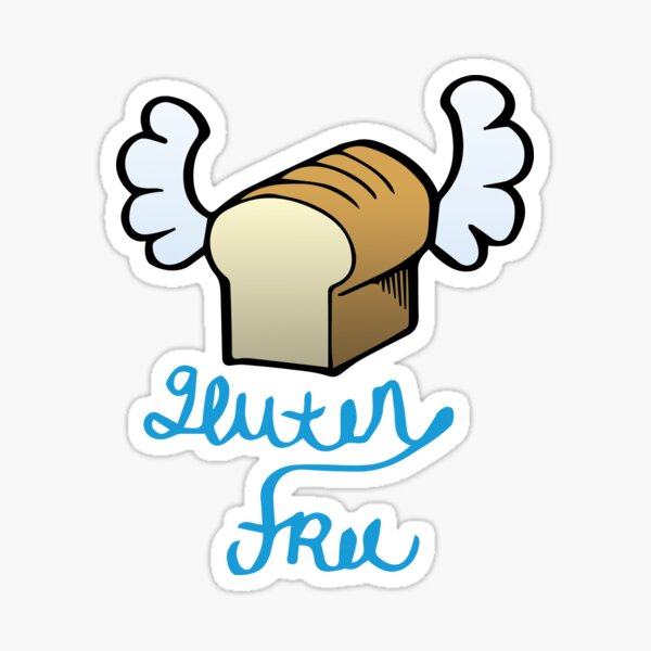 Gluten Free Flyer Sticker
