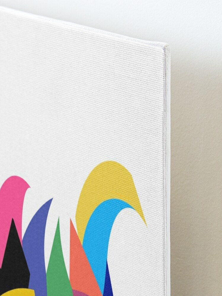 Alternate view of Abstract Swan Mounted Print
