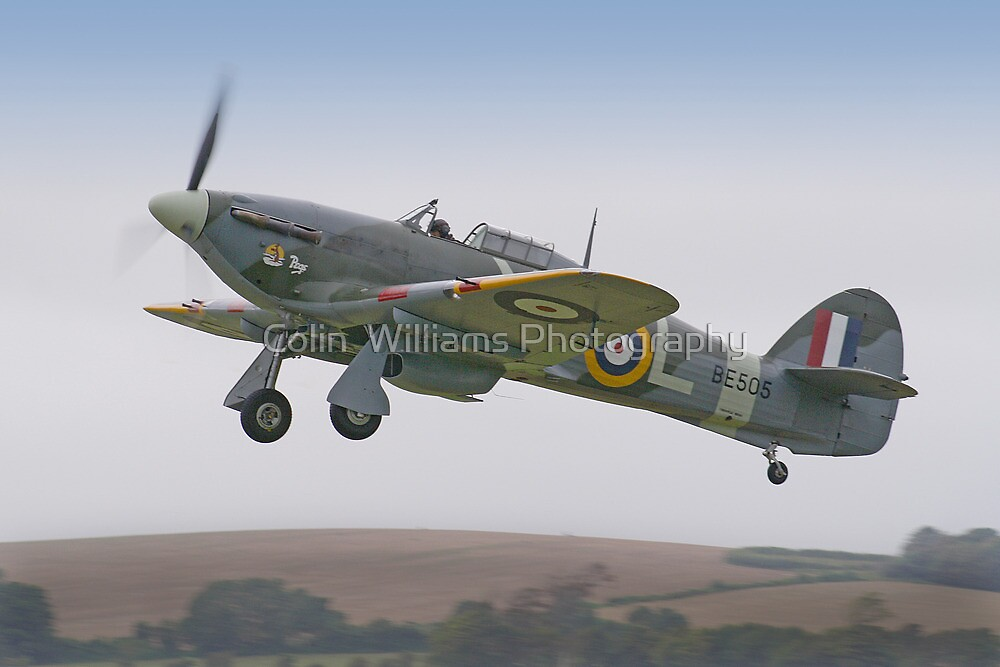 Hawker Hurricane IIb BE505 - Shoreham 2012 by Colin  Williams Photography