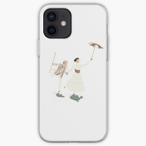 mary poppins & bert iPhone Soft Case
