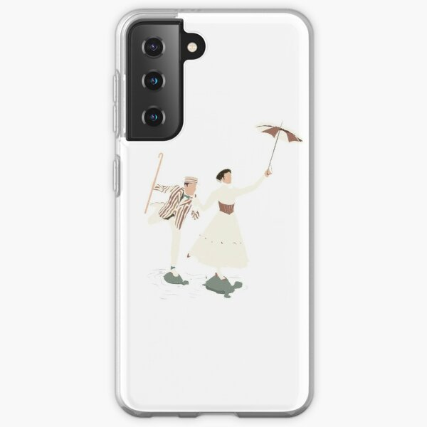 mary poppins & bert Coque souple Samsung Galaxy