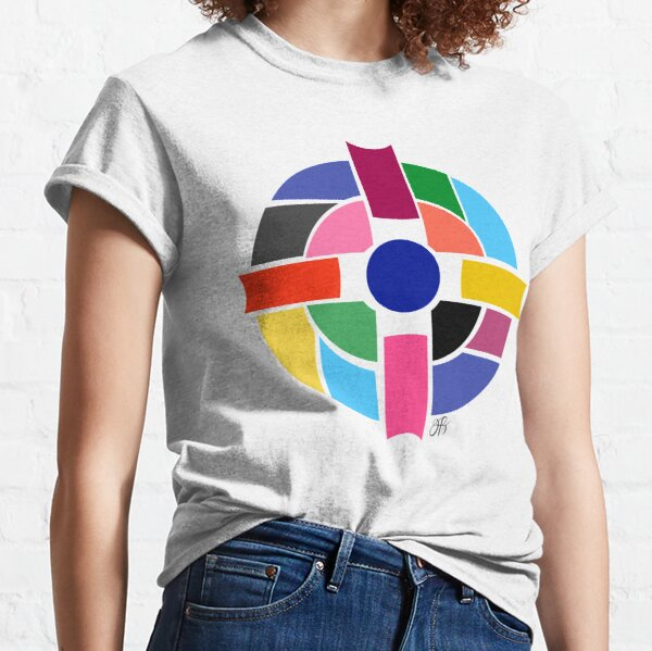 Abstract Cross Classic T-Shirt