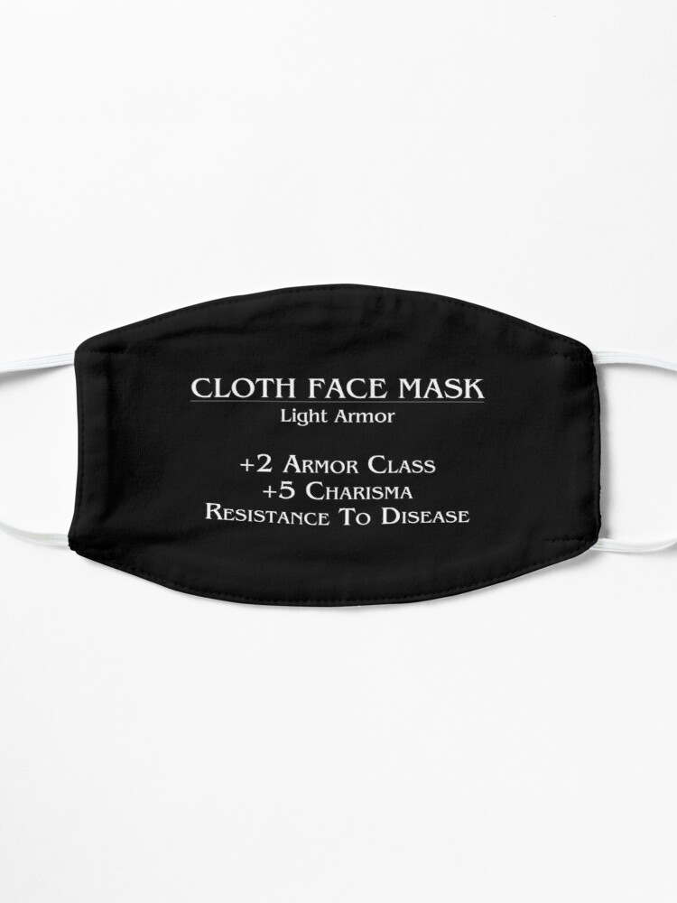 Alternate view of Face Mask Stats Mask