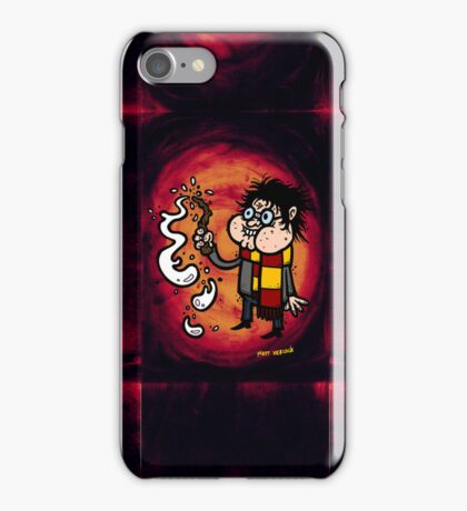 Whoops! My wand went off! iPhone Case/Skin