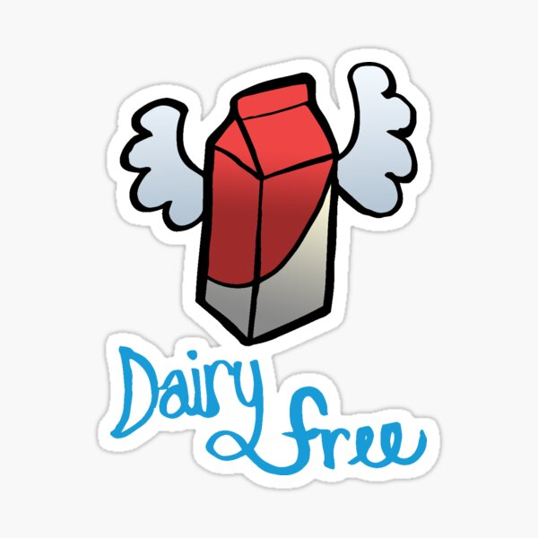 Dairy Free Flyer Sticker