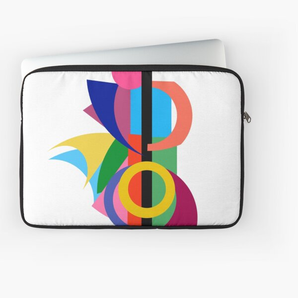 Abstract Cello Player Laptop Sleeve