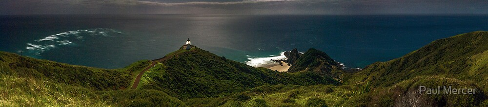 Cape Reinga panoramic by Paul Mercer