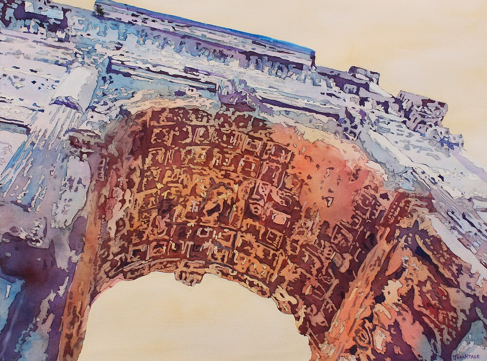 Arch of Titus Two by JennyArmitage