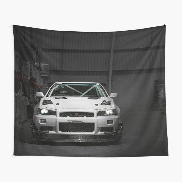 Matt Wootten's Nissan Skyline R34 GTT Tapestry