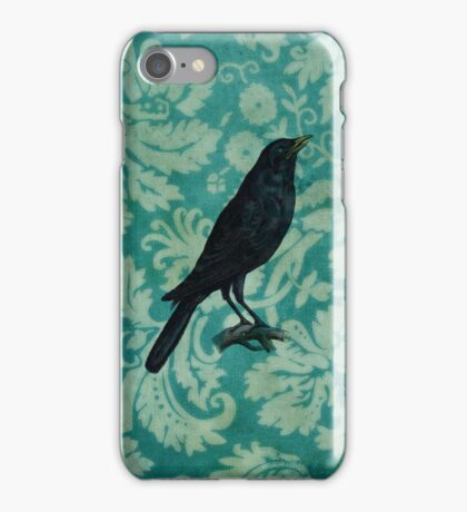 Hello Crow iPhone iPhone Case/Skin