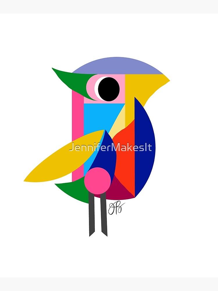 Abstract Bird by JenniferMakesIt