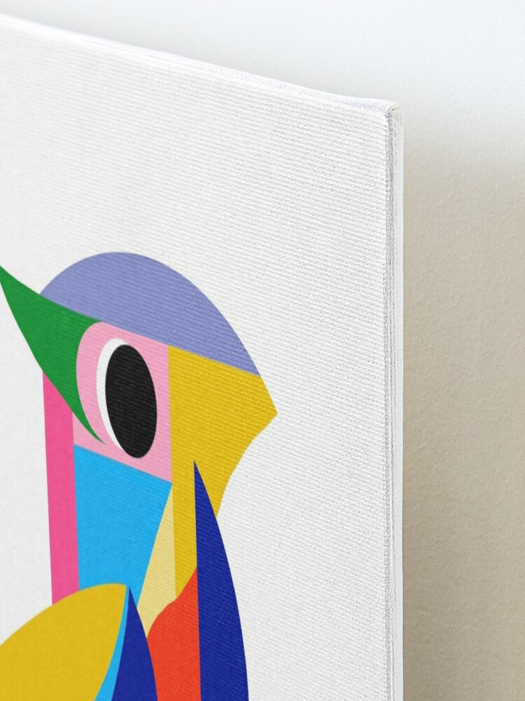 Alternate view of Abstract Bird Mounted Print