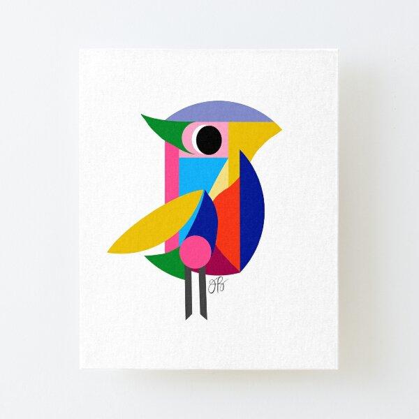 Abstract Bird Canvas Mounted Print