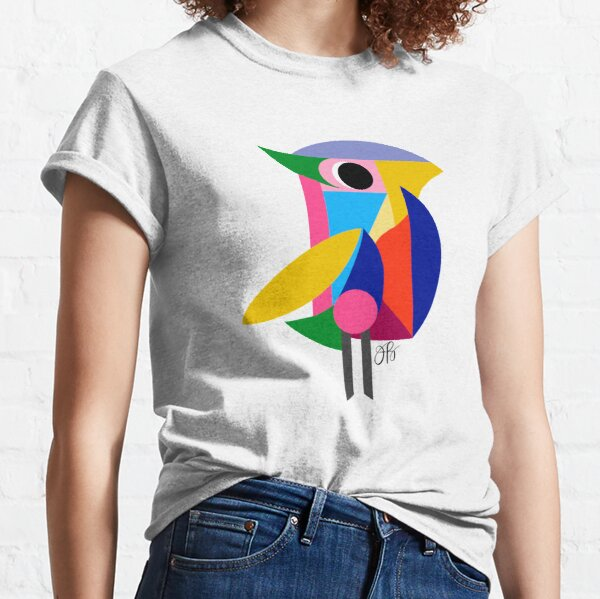 Abstract Bird Classic T-Shirt
