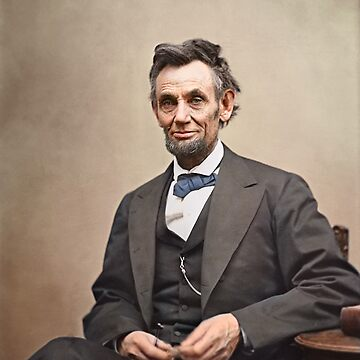 Colorized  - Abraham Lincoln by SannaDullaway